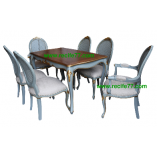 Dining Table set Baroque 01